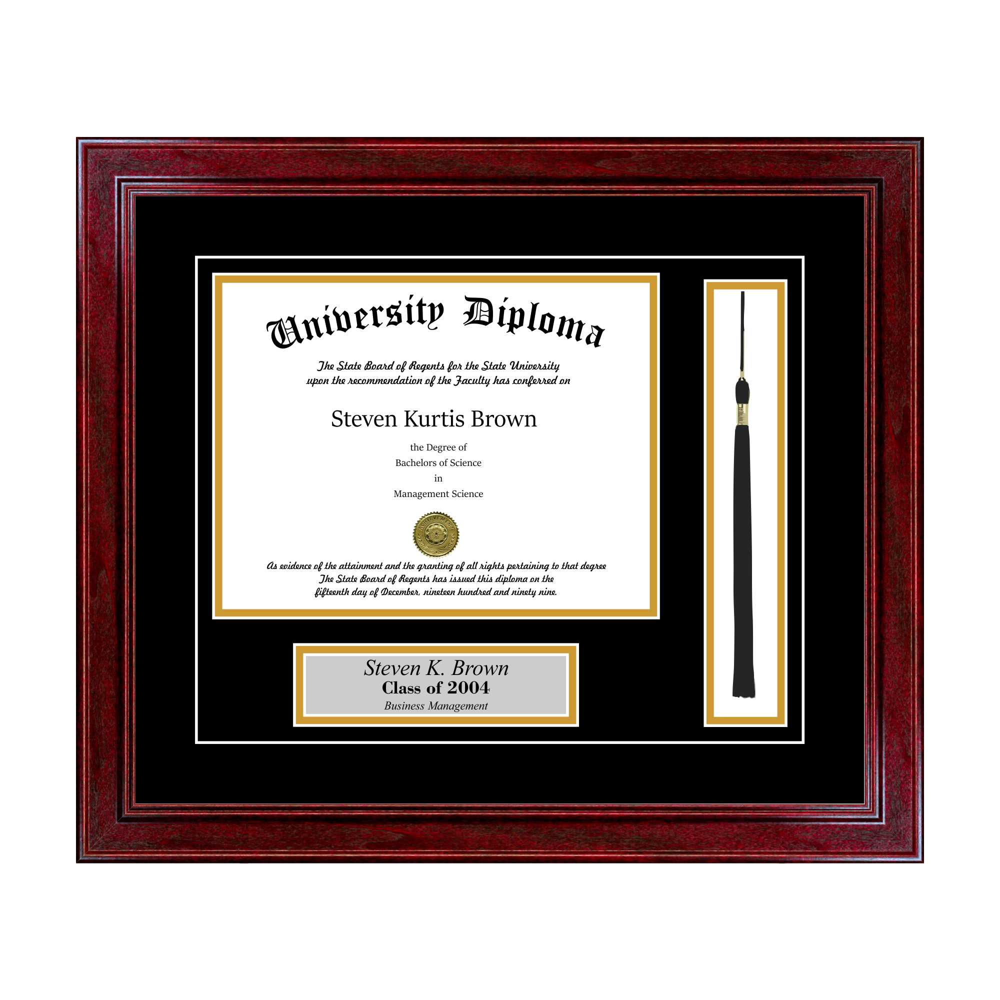 Diploma Frame Layouts