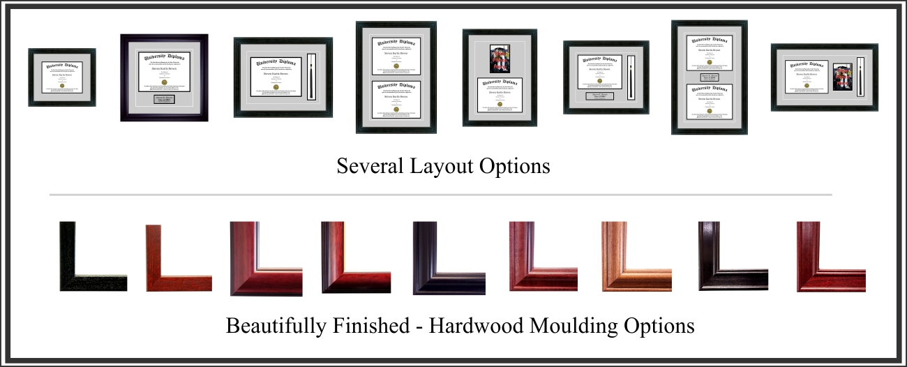 Diploma Frames | Perfect Cases and Frames